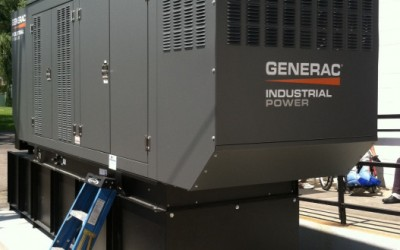 large outdoor generator